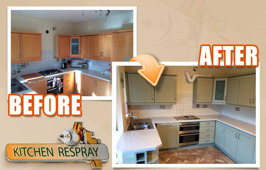 kitchen respraying