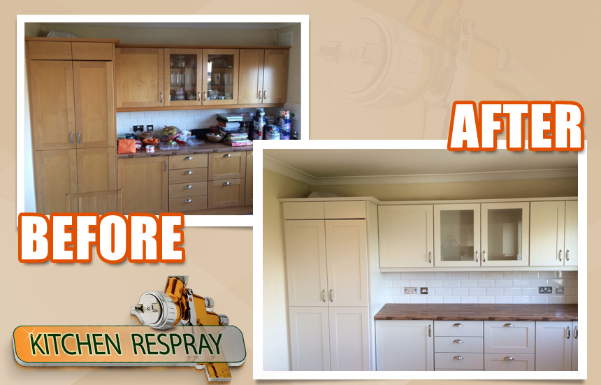 Paint for Kitchen Respraying